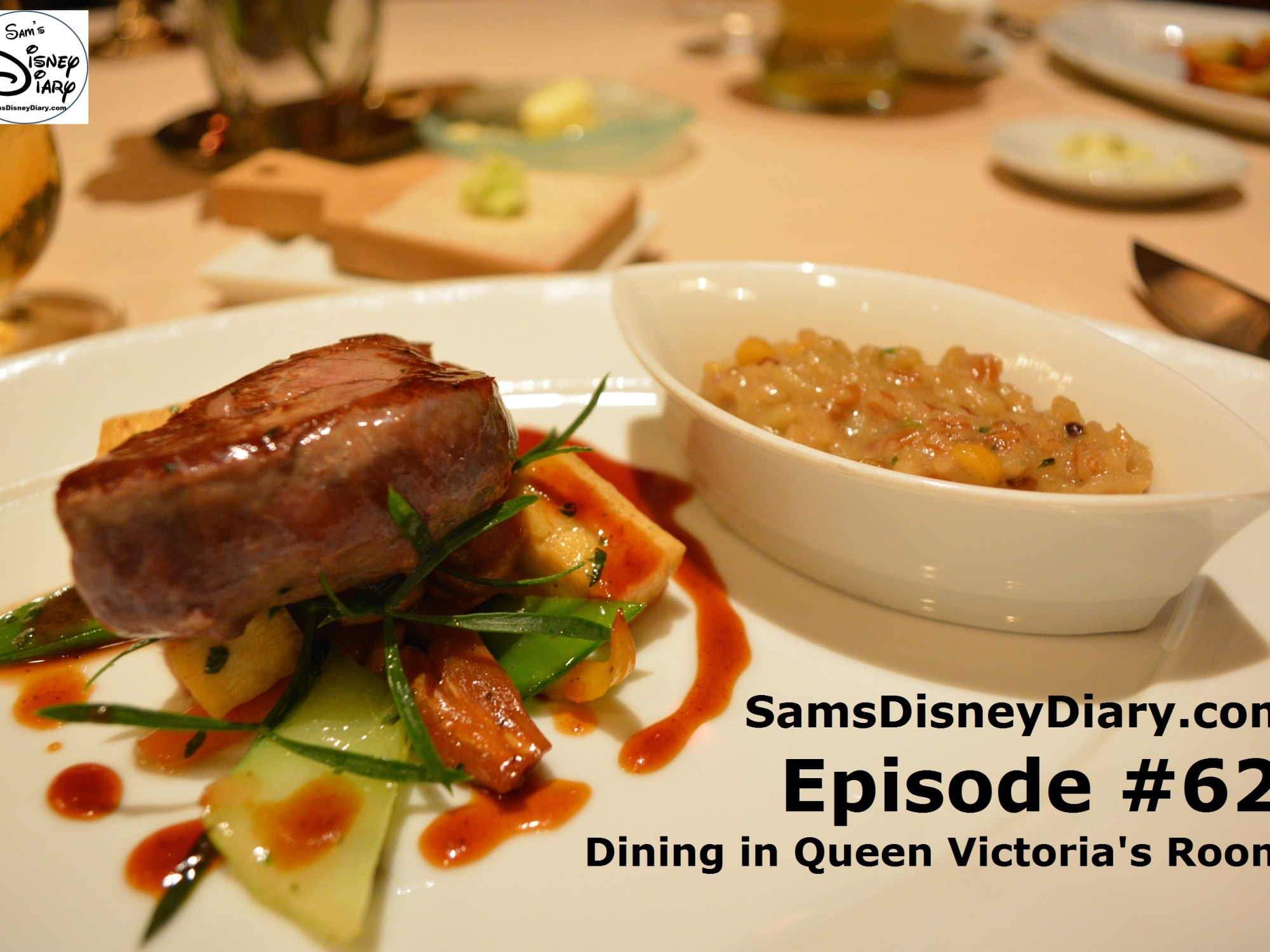 SamsDisneyDiary Episode #62: Dining in the Queen Victoria Room (Victoria and Albert's)