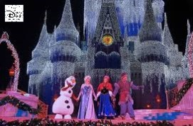"Sams Disney Diary #65 - in 2014 a ""Frozen Holiday Wish"" Replace the Cinderella Holiday Wish"