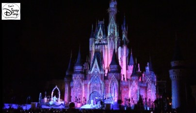 "Sams Disney Diary #65 - Elsa in the process of freezing the castle - The Castle ""Transforms"" during the process in 2015"