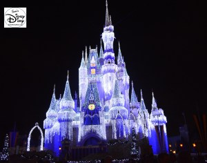 Sams Disney Diary #65 -Cinderella Castle Lights in 2013