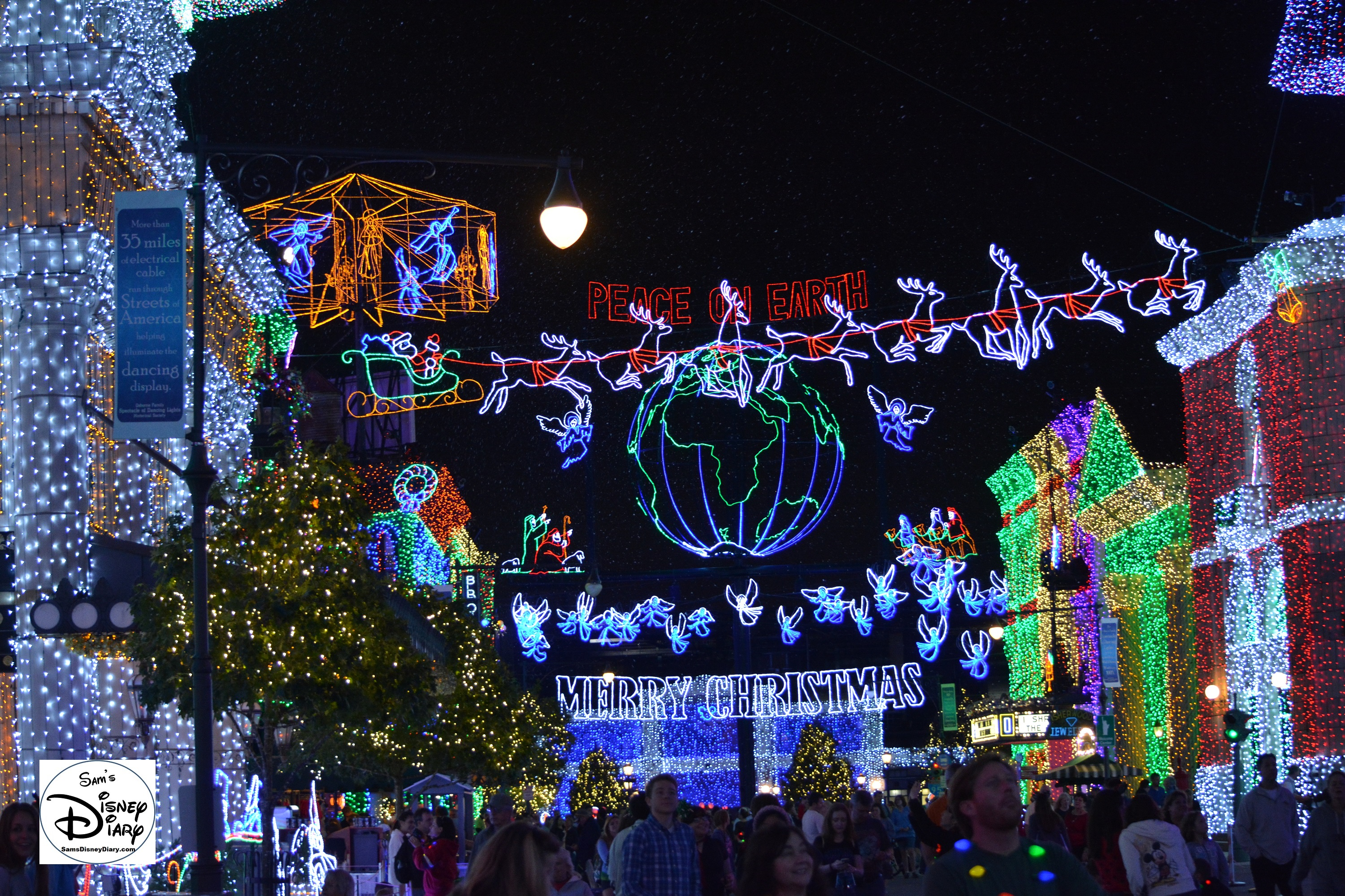 The Osborne Spectacle Of Dancing Lights.