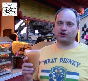 Sams Disney Diary Frozen Around World Showcase - China Peach Snap