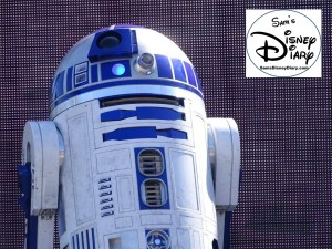 A Galaxy Far, Far Away Stage Show - R2-D2 up close.