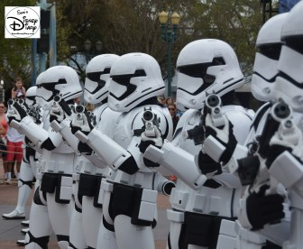 "Star Wars Weekends 2016 - ""First Order March"" led by Captain Phasma"