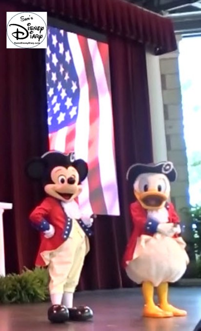 Sams Disney Diary 73- The Voices of Liberty on the 4th of July (2016)