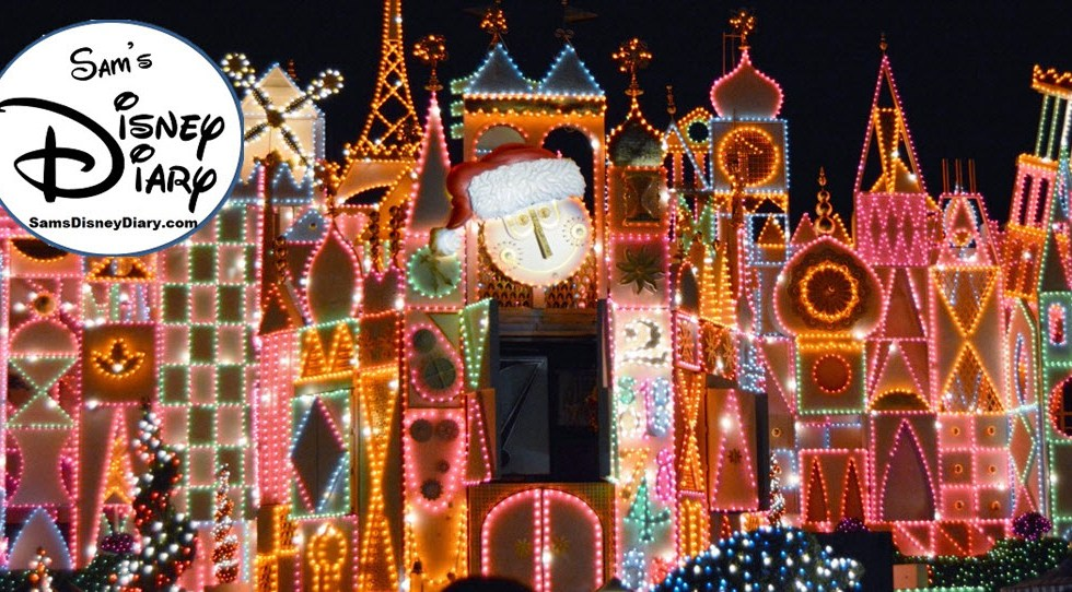 87 12 days of christmas 12 disneyland small world holiday - Disney 12 Days Of Christmas