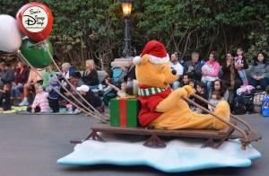 SamsDisneyDiary 82: Disneyland Christmas Fantasy Parade - Pooh Bear