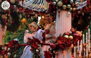 SamsDisneyDiary 82: Disneyland Christmas Fantasy Parade - Cinderella and Prince Charming
