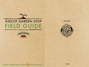 2017 Kidcot Garden Stop Field Guide Cover