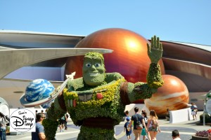 The 2017 Epcot International Flower and Garden Festival - Buzz near Mission Space