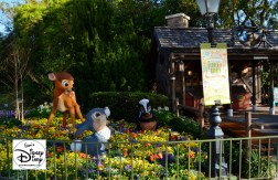 The 2017 Epcot International Flower and Garden Festival - Bambi and Friends near Canada