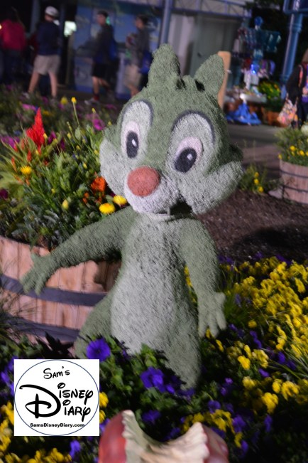 The 2017 Epcot International Flower and Garden Festival - Chip, or maybe Dale?