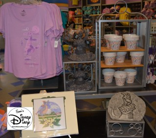 The 2017 Epcot International Flower and Garden Festival - Figment Merchandise.. Ok it's not Flower and Garden, but that's ok.