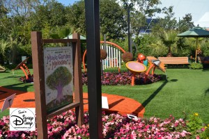 The 2017 Epcot International Flower and Garden Festival - One of many Kids activities - The Musical Garden