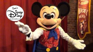 SamsDisneyDiary Episode #88 - Talking Mickey at Walt Disney World Town Square