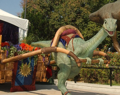 """The First """"Living Character"""" - Lucky the Dinosaur"""