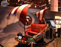 A Peter Pans Flight Ride Vehicle