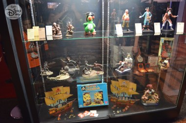 Various Pirate Souvenirs, all part of the Archives