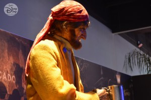 I'm sure that's as close as I have ever some to a Pirate from the Caribbean, part of the D23 Expo Pirates Archive