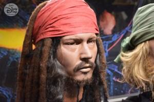 Captain Jack Sparrow Figure, part of the D23 Expo Pirates Archive
