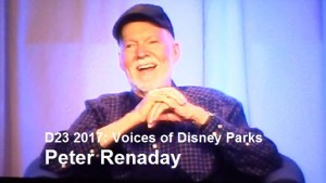 D23 Expo 2017 - Voices of the Parks - Peter Renaday