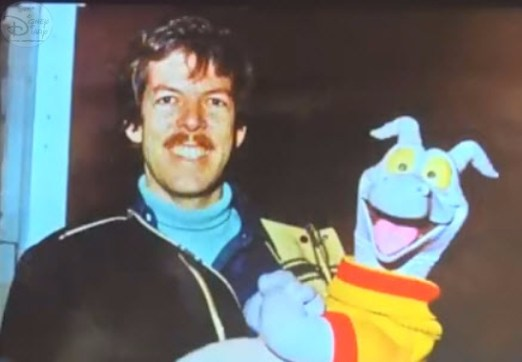 Tony Baxter - Figment among his creations.