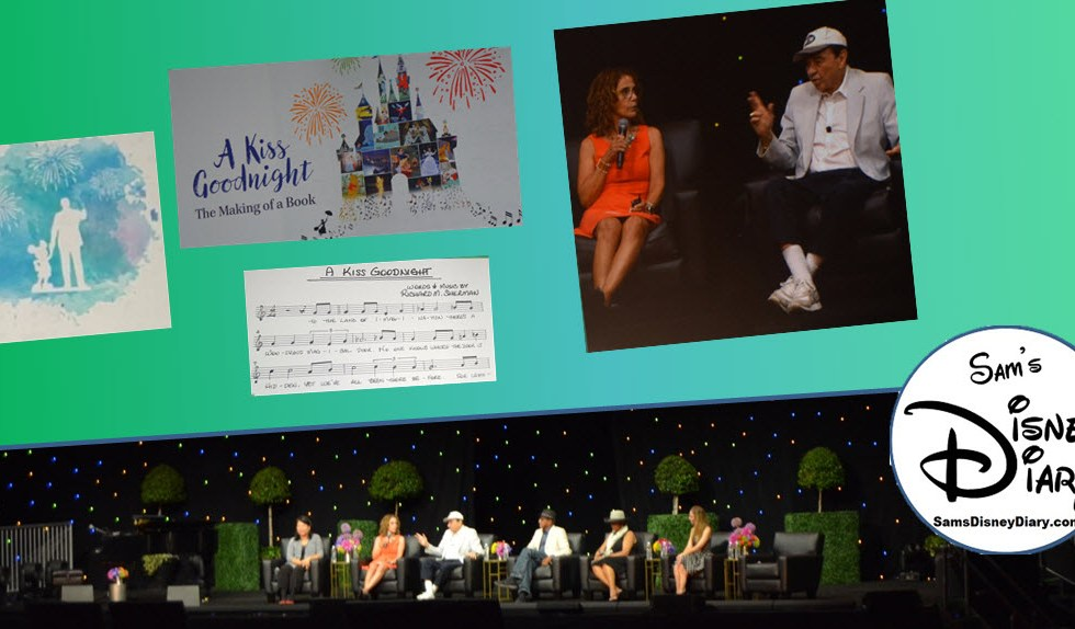 SamsDisneyDiary Episode #95: D23 Expo 2017: A Kiss Goodnight with Richard Sherman