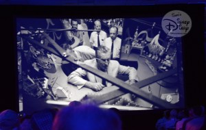 D23 Expo 2017: Marc Davis goes to WED - Never before scene picture of Walt Disney inside It's a Small World Model