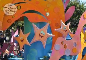 Sebastian's Calypso Carnival Float during Mickey's Soundsational Parade