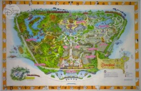 Disneyland Fun Map - From D23 Expo 2017 Maps of the Disney Parks and the book