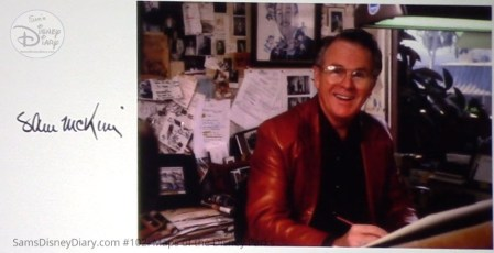 """Disney Legend (inducted 1996), Sam McKim is credited with many of the """"Fun"""" Maps included in Maps of the Disney Parks"""