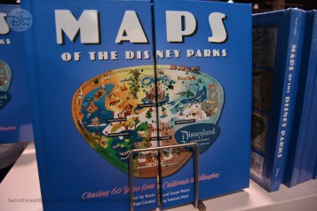 Maps of the Disney Parks, the Book, was available at the D23 Expo 2017 Breakout before it went on sale to the public