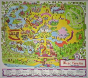 Magic Kingdom Fun Map - From D23 Expo 2017 Maps of the Disney Parks and the book