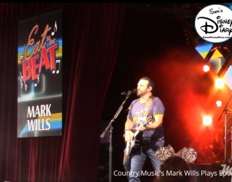 Mark Wills Performs at Epcot 35