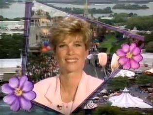1995 Walt Disney World Easter Day Parade Joan Lunden