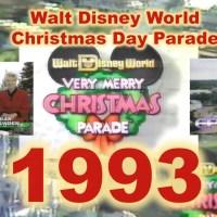 1993 Walt Disney World Christmas Day Parade
