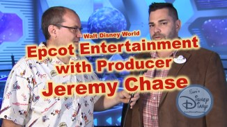 Epcot Entertainment with Producer Jeremy Chase