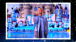 2018 Walt Disney World Christmas Day ParadenHosted by Sarah Hyland and Jordan Fisher with Jesse Palmer in Disneyland guests Olivia Holt