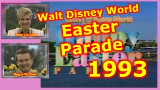 1993 Walt Disney World Easter Day Parade