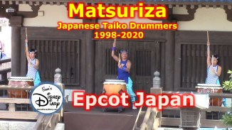 Epcot's Japan Pavilion hosted the Matsuriza Drums from 1998 until 2020