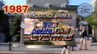 Backstage Disney: American Adventure (1987)