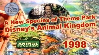 A New species of Theme Park: Disney's Animal Kingdom (1998)
