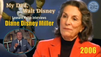 In 2006, Leonard Maltin interviewed Diane Disney Miller. The topic of the interview, her father Walt Disney. It's an intimate, insightful account of Walt Disney as a father. The interview includes home movies never seen before this video.