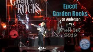 Epcot Garden Rocks: Jon Anderson of YES (2019)