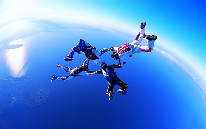 paraşütlü atlama