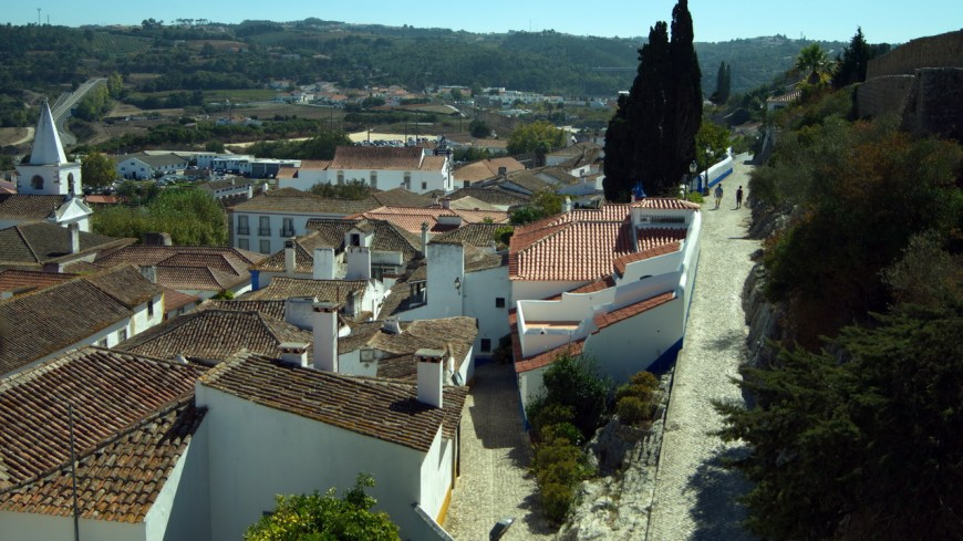 Portugal, Óbidos, Португалия, Обидуш,