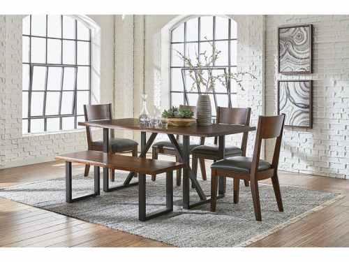 Brown-Dining-Room-Table_Springdale-AR