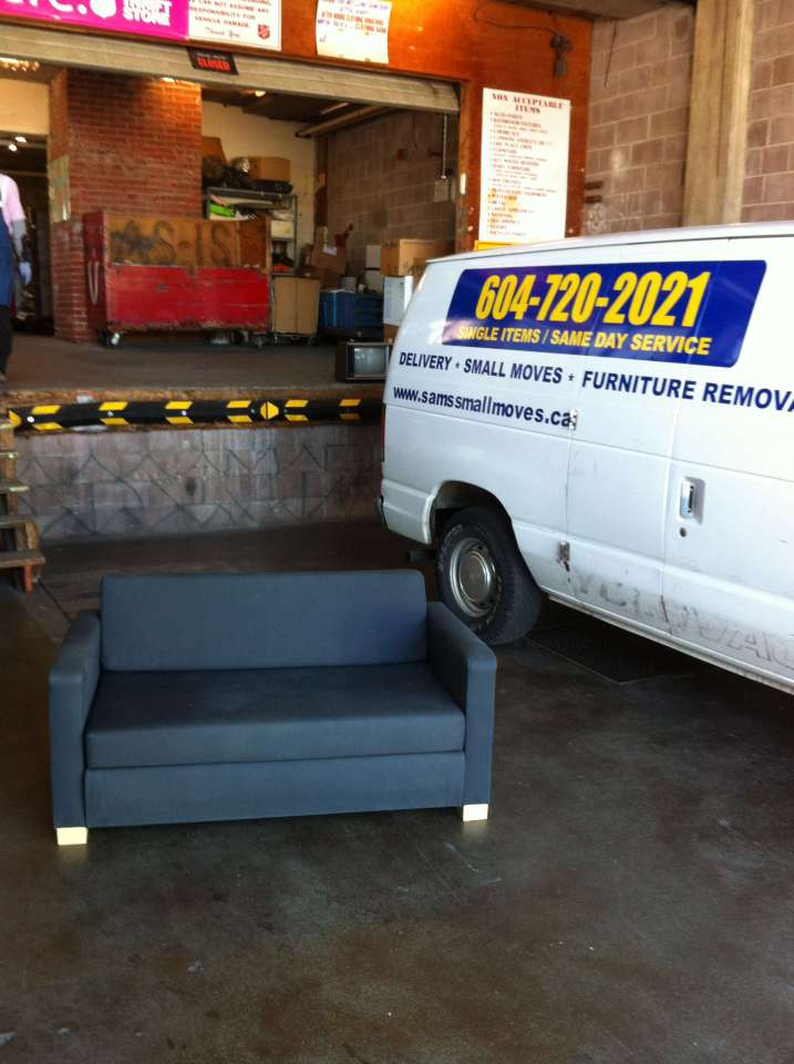 IKEA Sofa Bed Removal