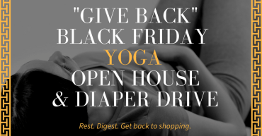 black friday yoga in sterling ridgetop coffee