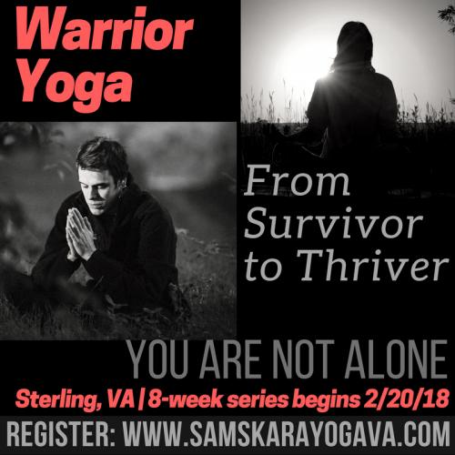 Warrior Yoga Sterling VA